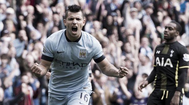 Gol e rigori: il Tottenham esce sconfitto dall'Etihad, Aguero cala il poker