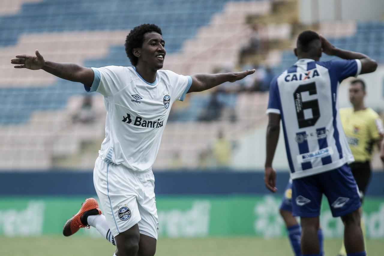 Grêmio vence CSA e avança para as oitavas de final da Copa SP