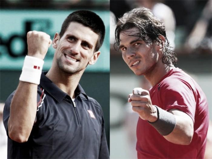 Novak Djokovic x Rafael Nadal no Masters 1000 de Roma 2016 (2-0)