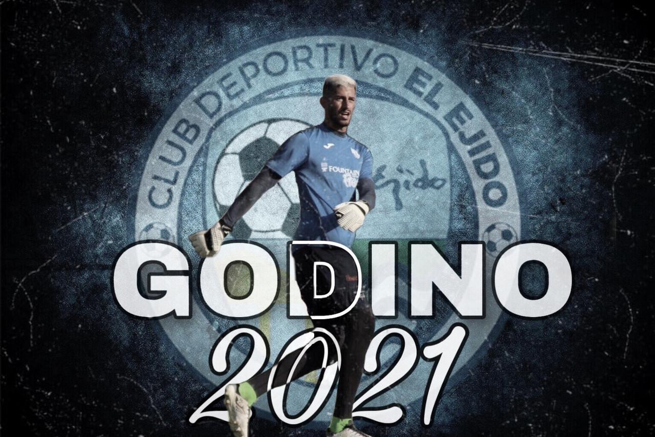 Jesús Godino, el muro infranqueable del CD El Ejido, continúa una temporada más