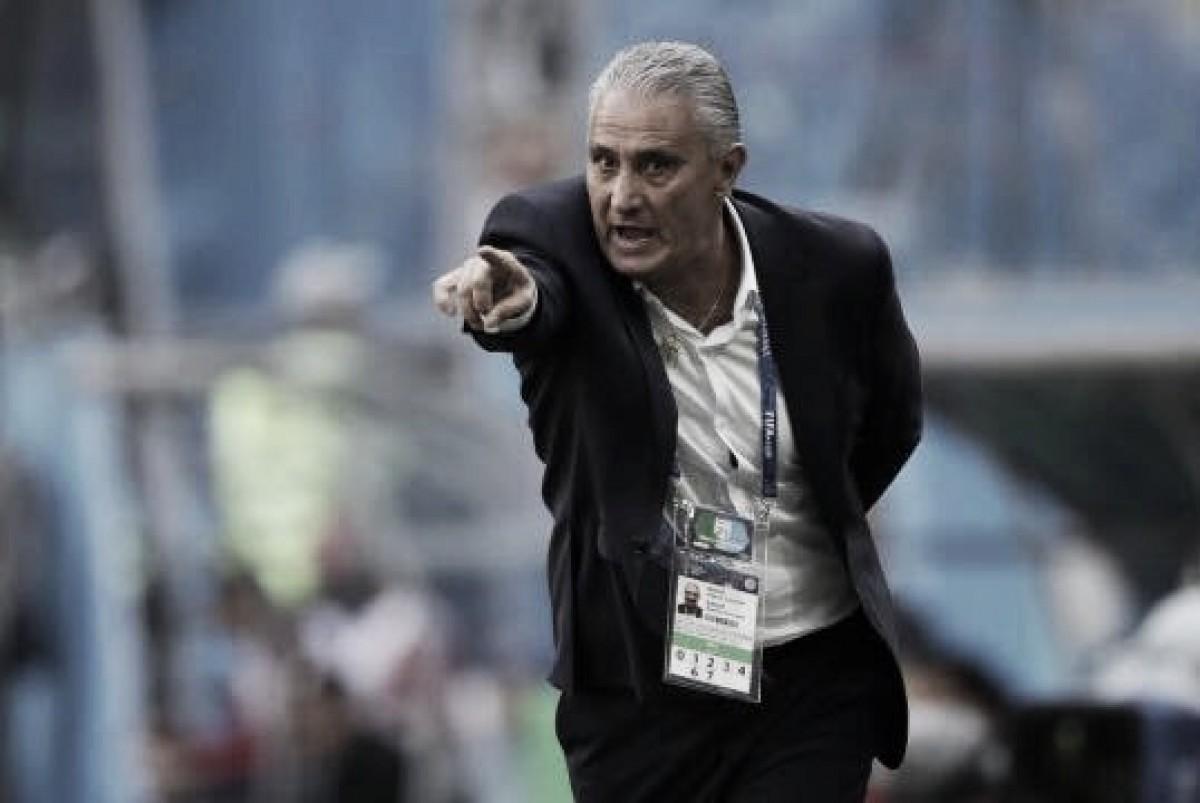 """Tite elogia segundo tempo do Brasil, mas critica criatividade da equipe: """"Está devendo"""""""
