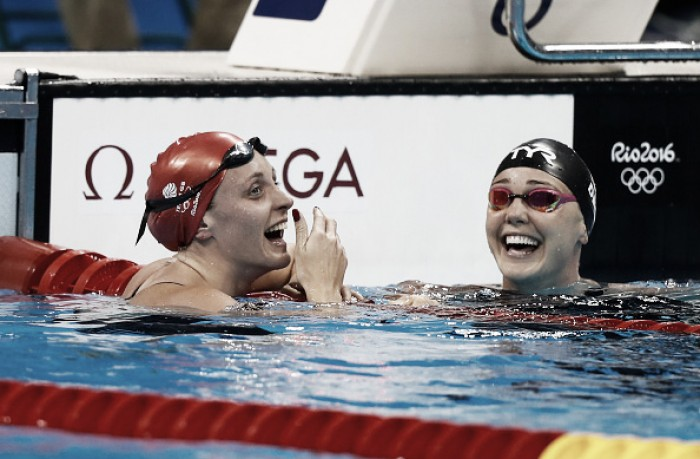 Rio 2016: Swimming heats round-up: Halsall qualifies second fastest for Women's 50m free semis; GB relays advance to final