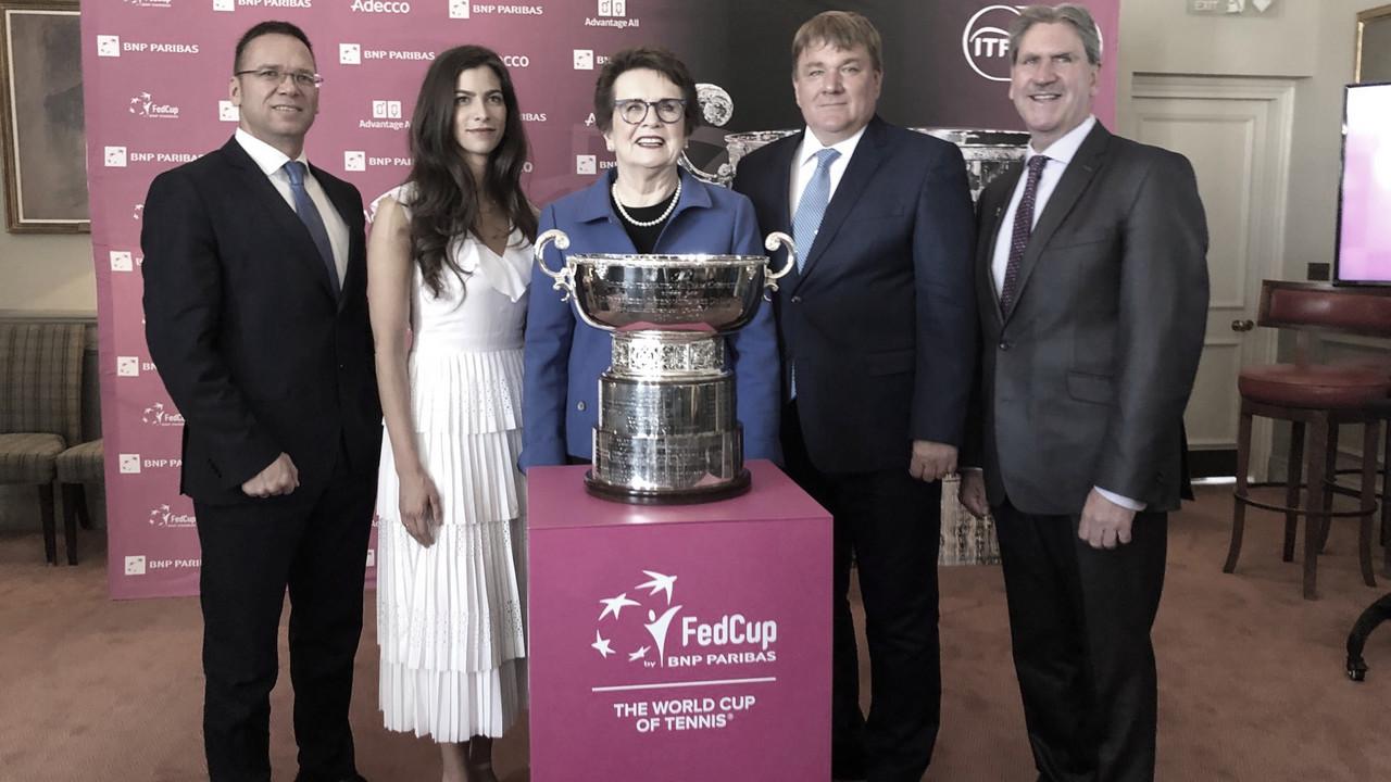 ITF anuncia mudanças e Fed Cup vai seguir padrão da Copa Davis