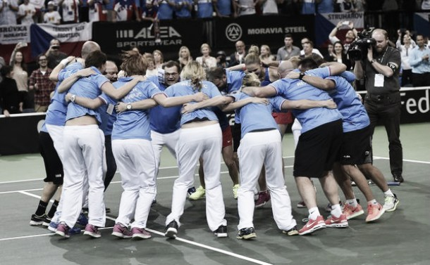 Fed Cup: Czech Republic come back from the abyss to win the Fed Cup