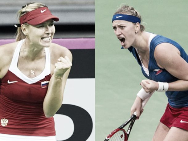 Fed Cup: Russia and the Czech Republic meet in Prague with revenge on the cards