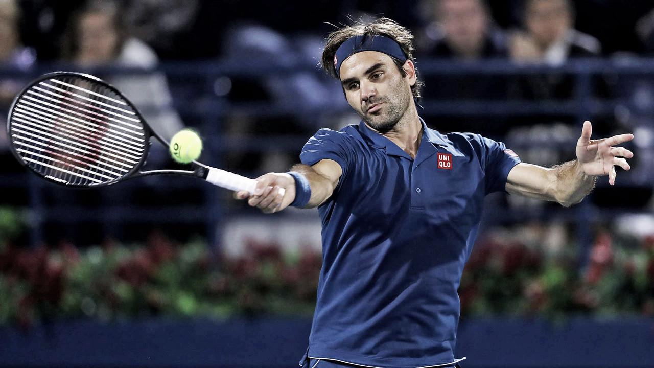 Federer vence Fucsovics, avança às semis de Dubai e segue firme na busca pelo 100º título na carreira