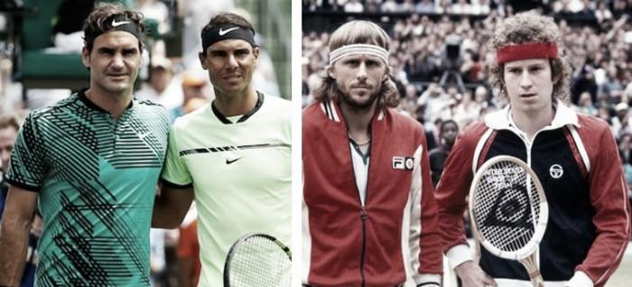 Federer-Nadal e Borg-McEnroe: a importância das grandes rivalidades