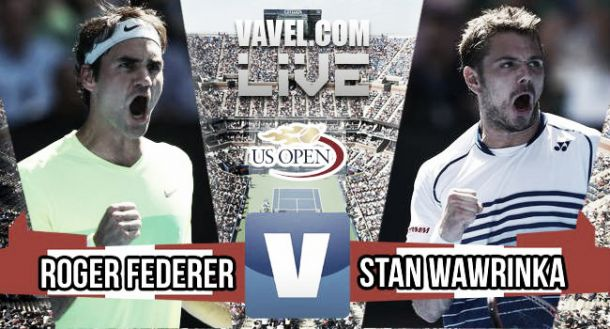 US Open 2015 - Roger Federer bt. Stan Wawrinka: As it happened