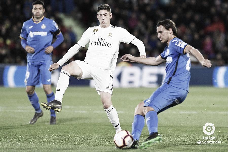 """Fede Valverde: """"Hay que seguir entrenando, trabajando duro y que me sirva de motivación"""""""