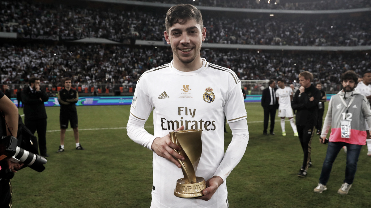 Fede Valverde, MVP de la final de la Supercopa de España