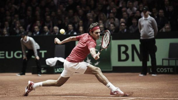 Coppa Davis: Monfils travolge un Federer a mezzo servizio, Francia - Svizzera 1-1