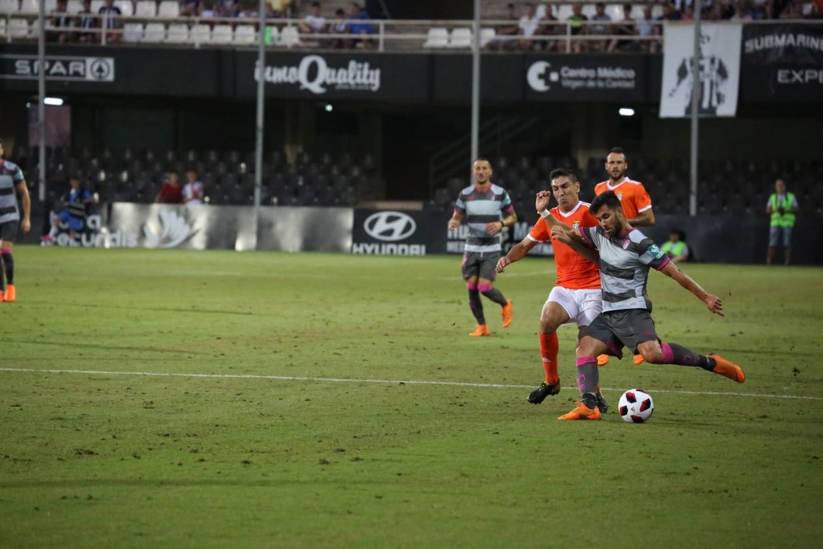 El Granada CF cae en el Cartagonova