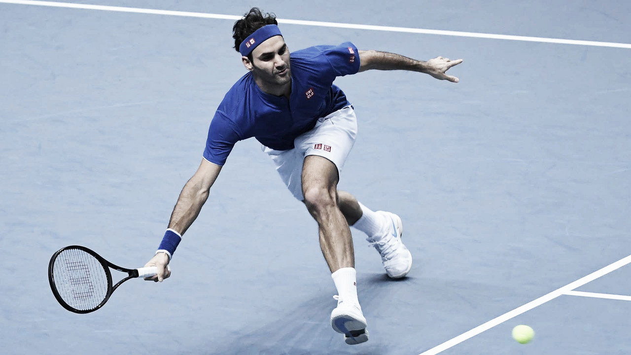 Federer bate Anderson e se classifica às semifinais do ATP Finals