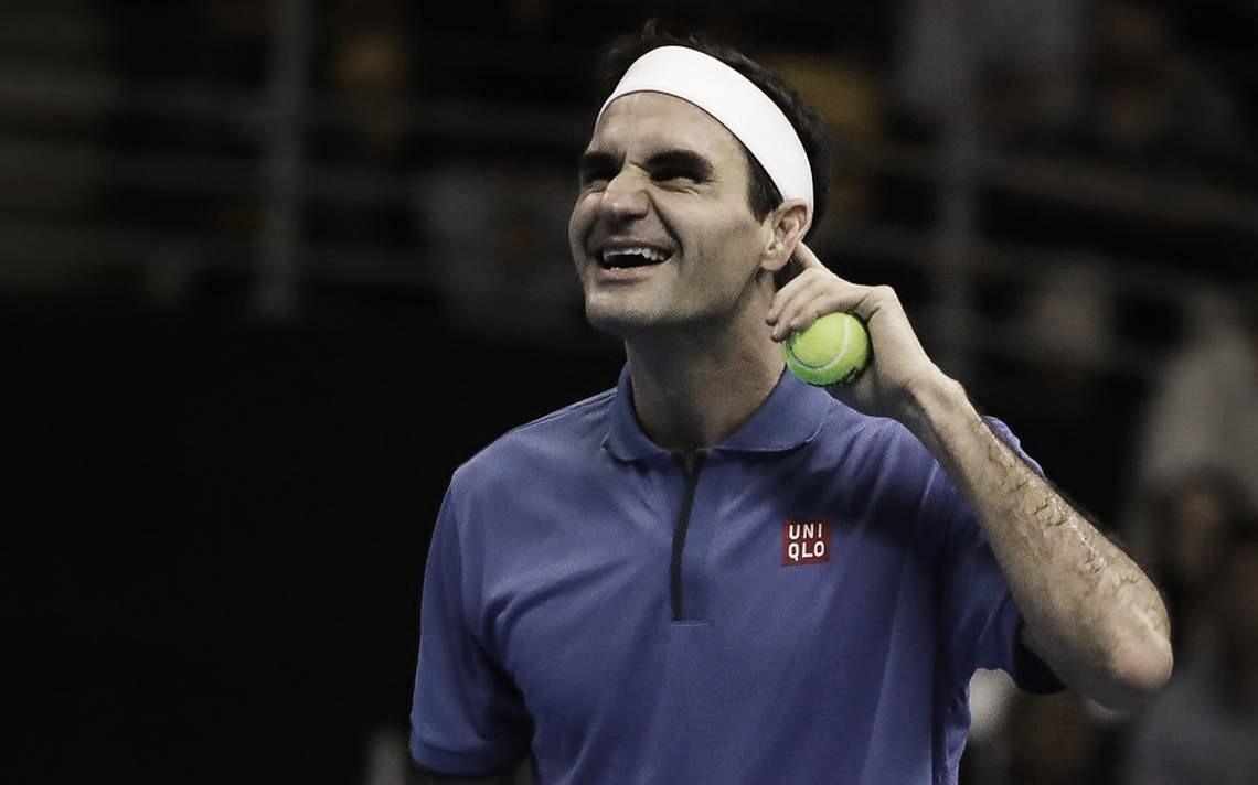 Roger Federer ya se encuentra en Colombia