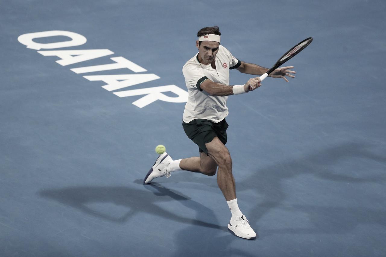 Federer queda eliminado en Doha