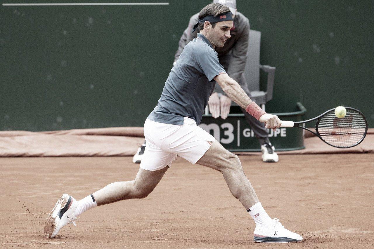 Federer cae en su regreso
