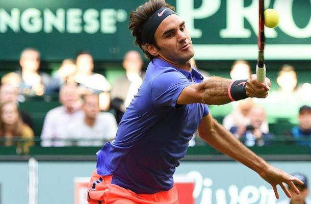 ATP Halle, Federer liquida Gulbis