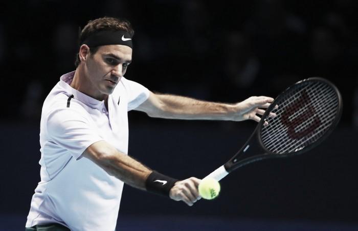 "Federer supera con nota un debut ""trampa"" en Londres"