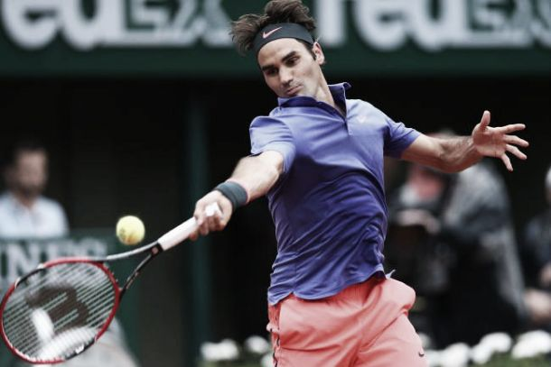 Risultato Federer - Mayer , Atp Halle, Gerry Weber Open 2015 2-0 (6-0, 7-6)