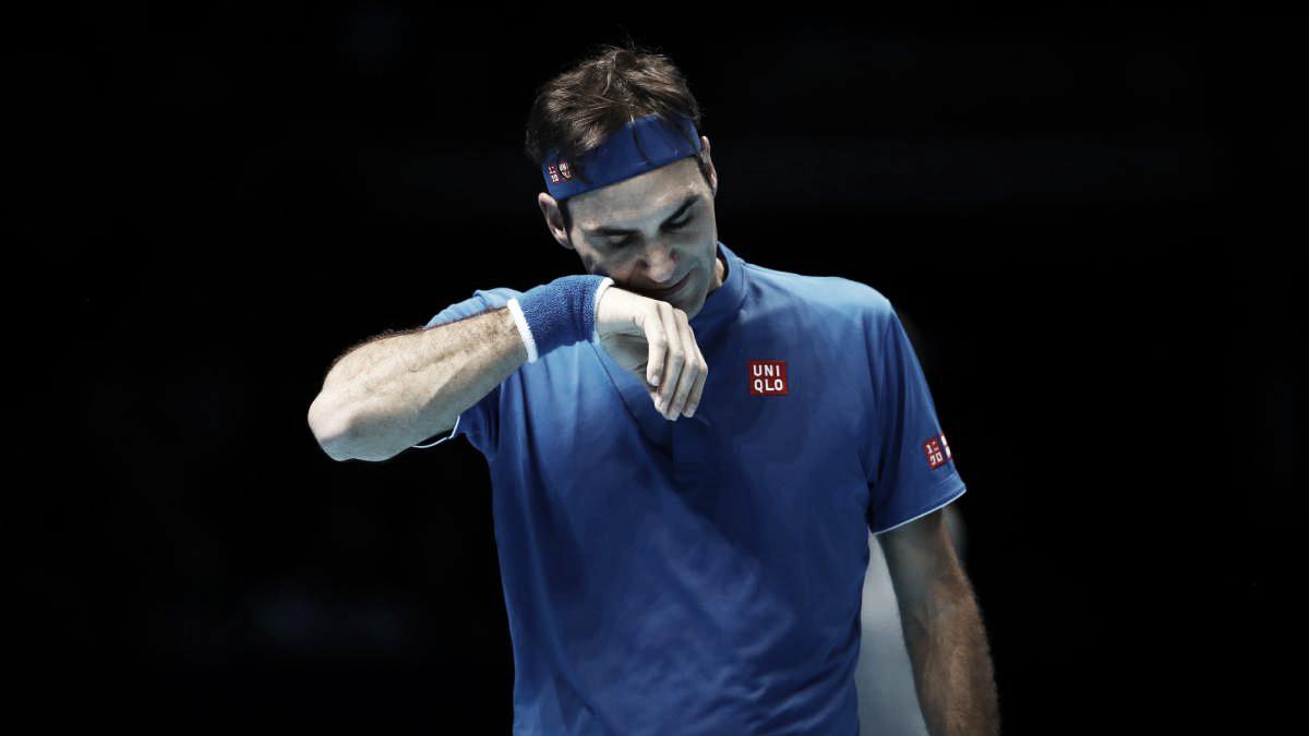 Federer arrancó con el pie izquierdo en Londres