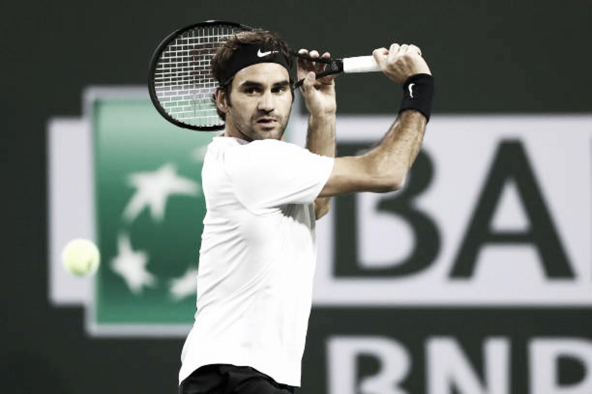 Indian Wells: Federer está nos quartos e encontra o tenista sensação