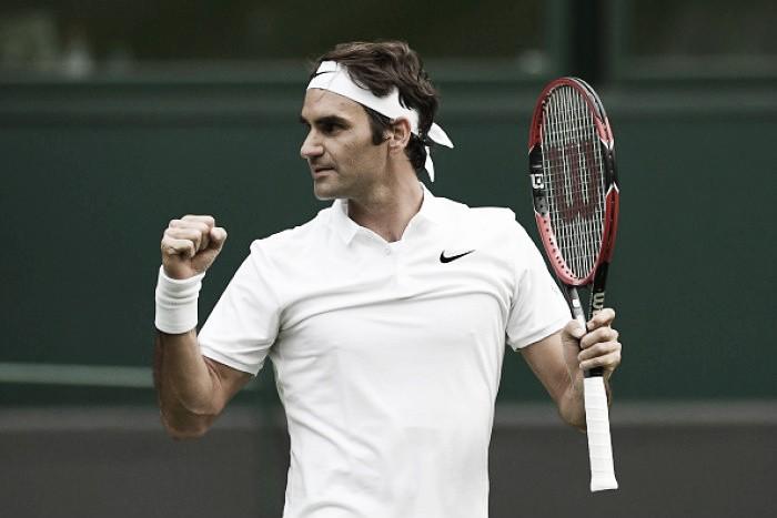 Federer tem trabalho, mas passa por Guido Pella na estreia em Wimbledon