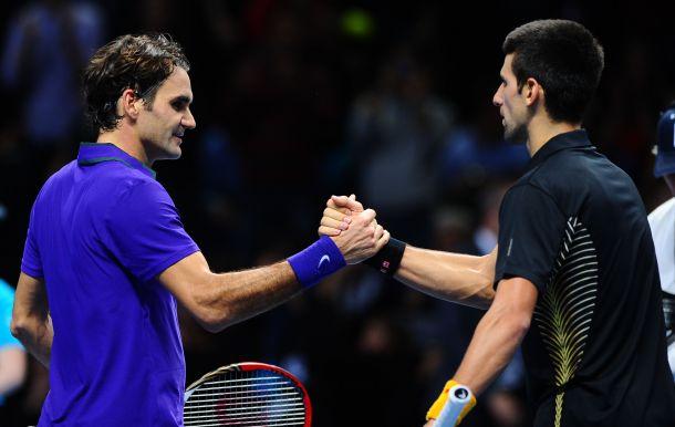 Terminé : Roger Federer - Novak Djokovic, revivez le live [Masters 1000, Paris Bercy]