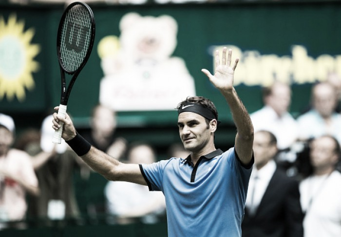 ATP Halle: Roger Federer eases past Yuichi Sugita to record his 1100th career victory