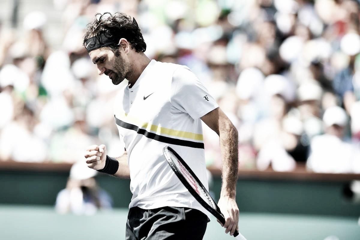 Federer supera Coric em partida eletrizante e joga a final em Indian Wells