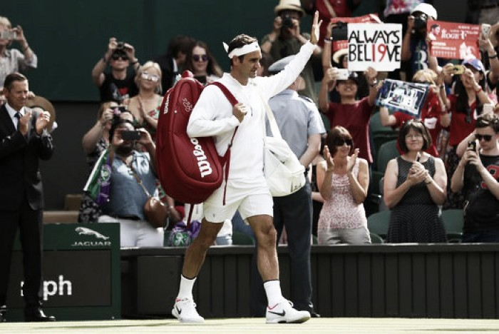Wimbledon: Retirement gifts Roger Federer historic victory