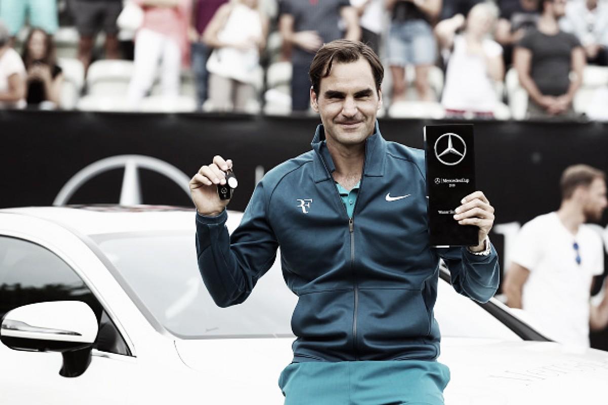Federer bate Raonic no ATP 250 de Stuttgart e conquista seu 98º título na carreira
