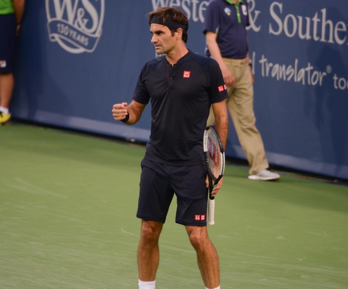 ATP Cincinnati: Roger Federer advances to final after David Goffin retires