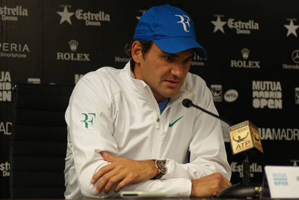 Un ottimo Federer