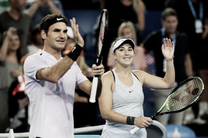 Com Federer e Bencic, Suíça é campeã da Hopman Cup