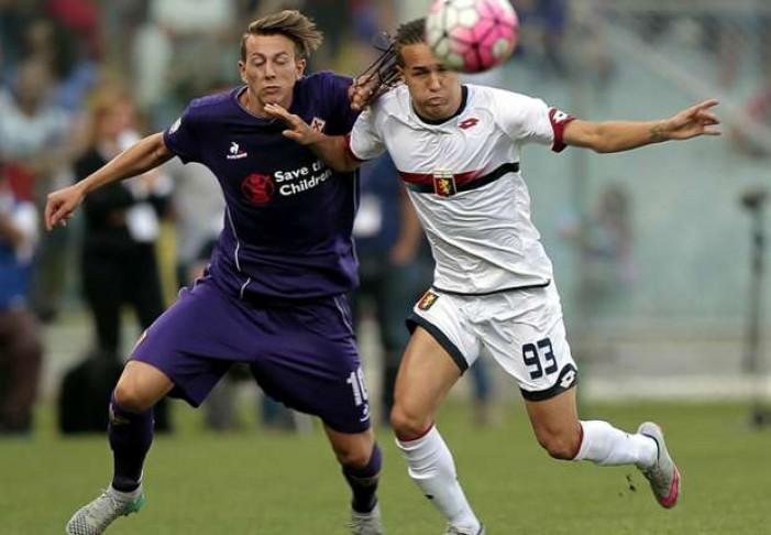 Partita Genoa-Fiorentina in Serie A 2016/17 0-0: gara ufficialmente rinviata per pioggia!