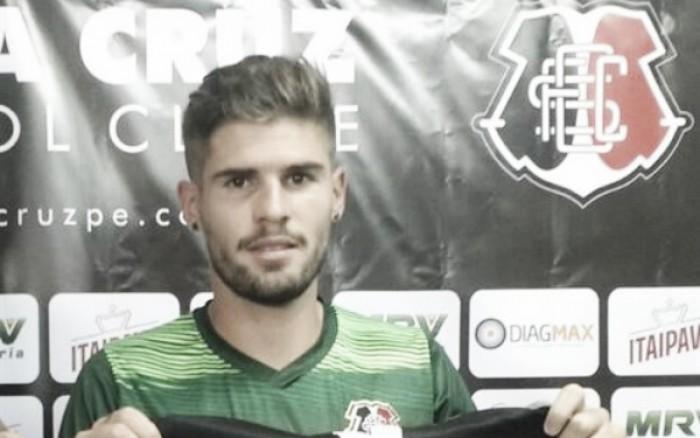"""Federico Gino é apresentado e exalta Santa Cruz: """"É um passo muito grande para mim"""""""