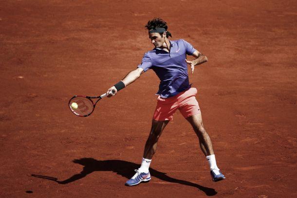 Roland Garros, Federer agli ottavi