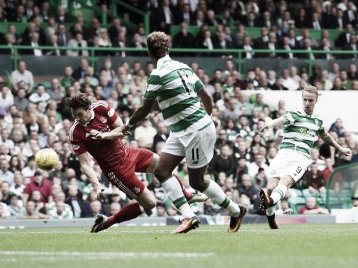 Celtic goleia Aberdeen em casa e assume a liderança isolada da Premiership