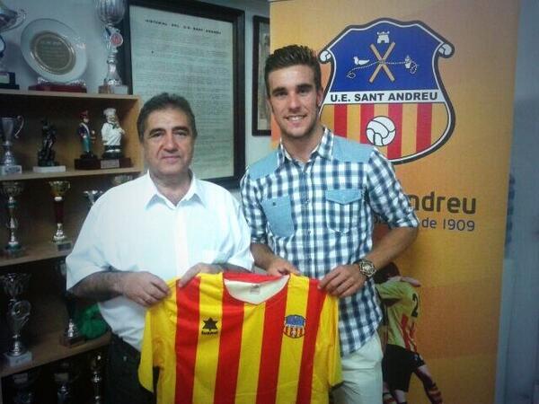 Francis Ferrón se incorpora a la disciplina del Sant Andreu