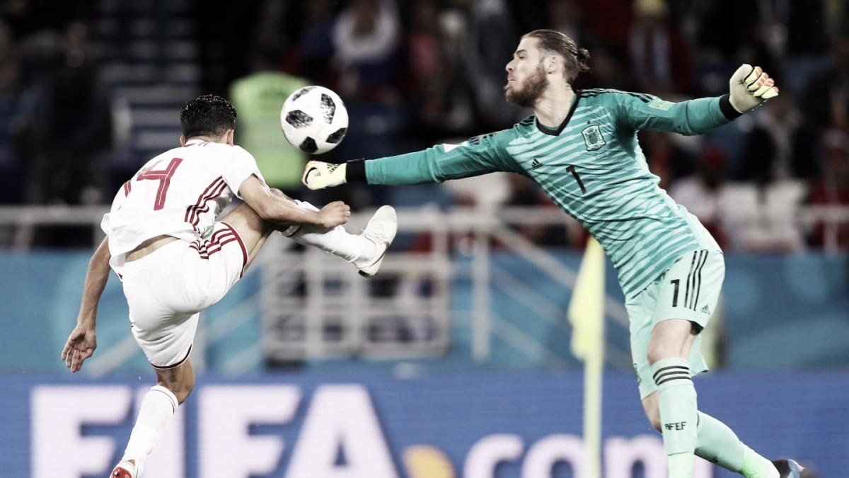 España-Rusia: puntuaciones Rusia, octavos de final