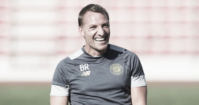 """Brendan Rodgers elogia desempenho do Celtic após goleada: """"Tivemos atitude"""""""