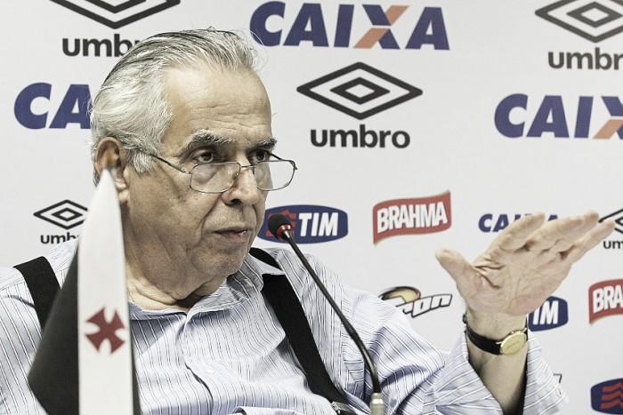 """Eurico Miranda lamenta confusão em São Januário: """"Sugeri jogo com torcida única"""""""