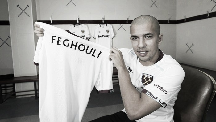 "West Ham are ""incredibly ambitious"", says newcomer Feghouli"