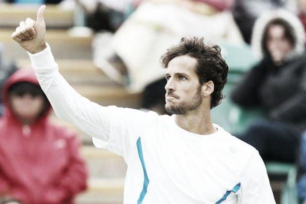 Feliciano Lopez a la main verte