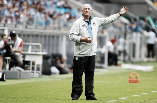 Após confirmação de vaga na final, Felipão nega proposta chinesa e diz que Grêmio fará contratações