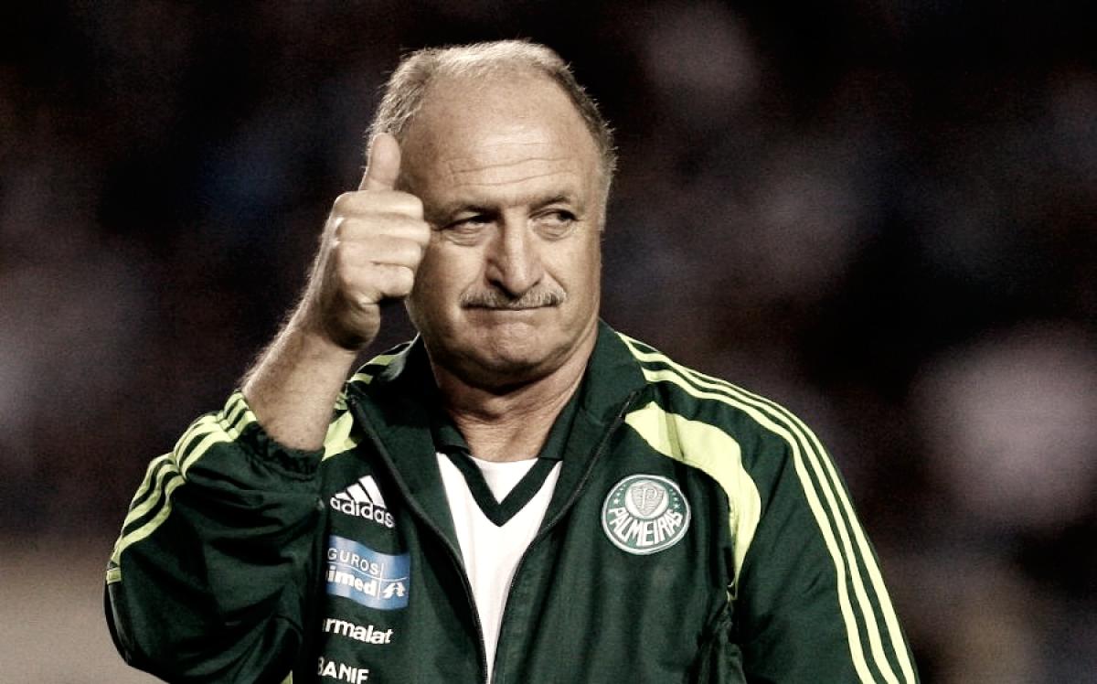 Veja como foi: apresentação de Luiz Felipe Scolari no Palmeiras