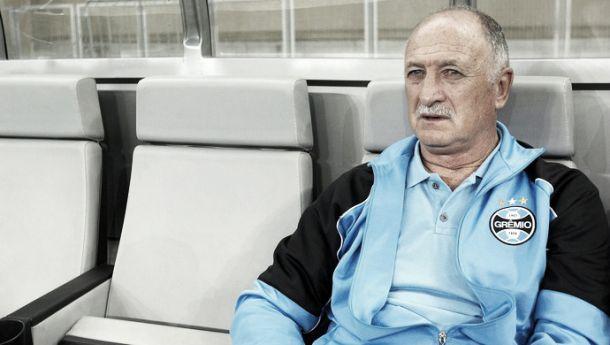 Apesar da derrota, Felipão elogia o Grêmio e afirma que equipe está no caminho certo