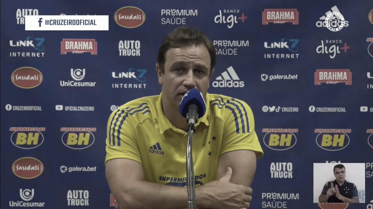 Conceição elogia controle defensivo do Cruzeiro e sai confiante para próxima fase da Copa do Brasil