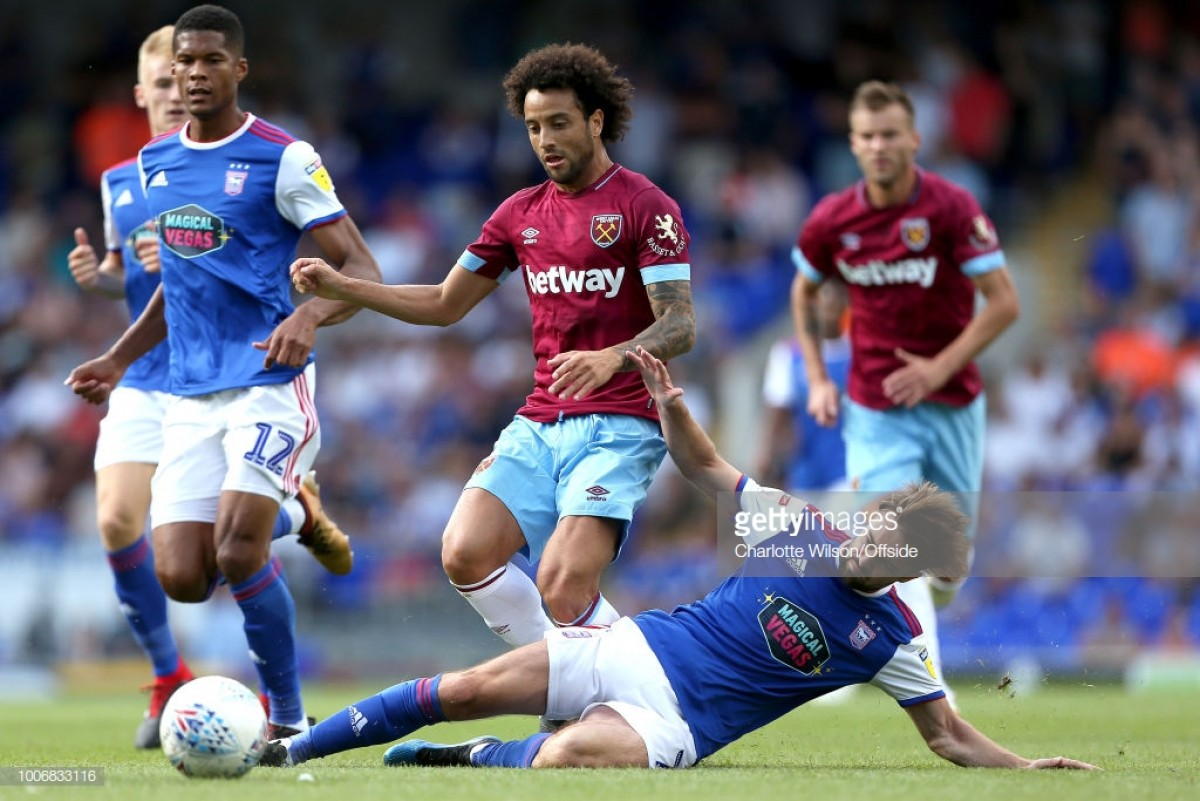 Felipe Anderson looks to make his mark at West Ham