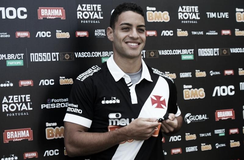 Felipe Ferreira é apresentado pelo Vasco e diz: ''Espero atender todas as expectativas''